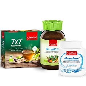 Jentschura Bathsalts, Wurzelkraft and Detox Tea