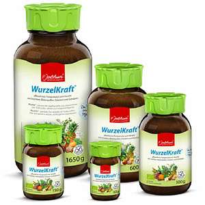Food Supplement Wurzelkraft delicious food supplement made from natural organic produce