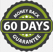 Money back guarantee for 60 days