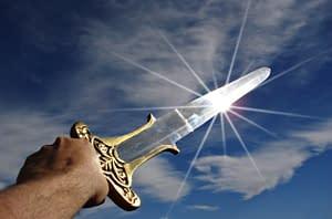 Flashing Sword
