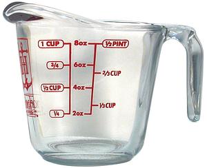 8 oz of water measurement