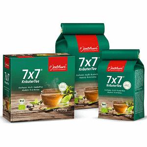 Detox Tea Jentschura 7x7 Alkaherb Loose Tea