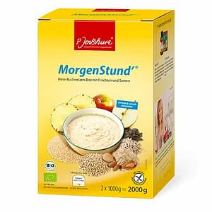 Jentschura Morgenstund Alkalising Cereal ® - Millet and buckwheat porridge with fruit and seeds 2000gms
