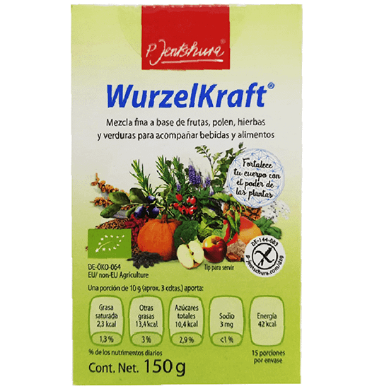 Food Supplement Dietry information of Wurzelkraft food supplement