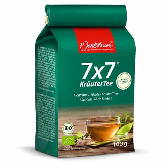 Detox Tea Jentschura 7x7 Alkaherb Loose Tea 100g