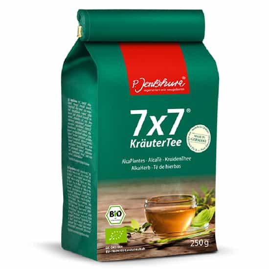 Detox Tea Jentschura 7x7 Alkaherb Loose Tea 250g