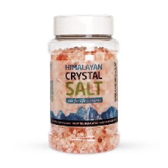 Himalayan Salt granular 500 jar w