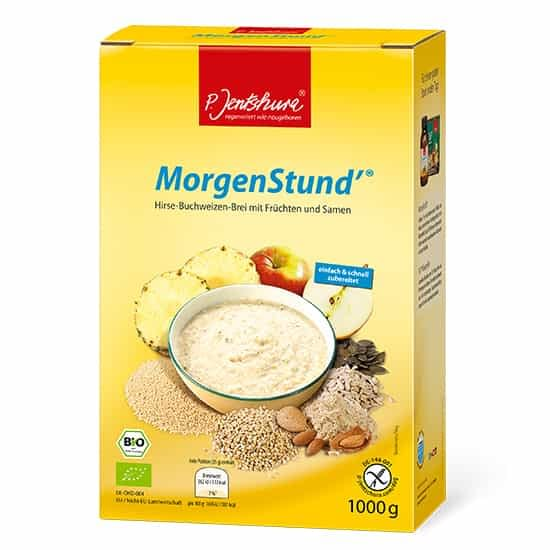Jentschura Morgenstund Alkalising Cereal ® - Millet and buckwheat porridge with fruit and seeds 1000gms