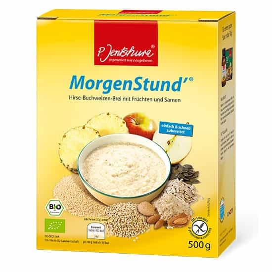 Jentschura Morgenstund Alkalising Cereal ® - Millet and buckwheat porridge with fruit and seeds 500gms