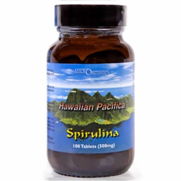 hawaiian spirulina Glass Jar