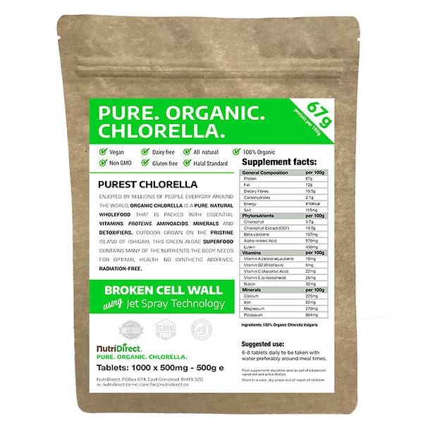 Organic Chlorella Powder 1000