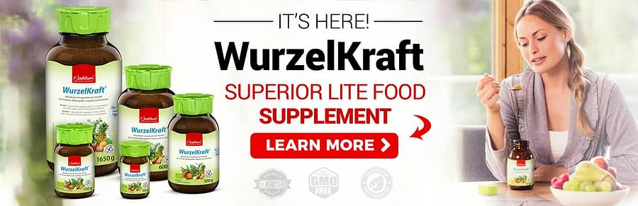 superior wurzelkraft food supplements non gmo organic